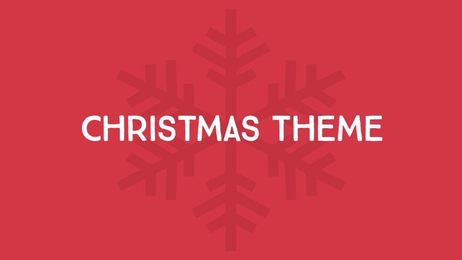 Christmas Theme (2013)